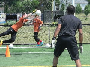 Just 4 Keepers Clinics In New York Coach Knight