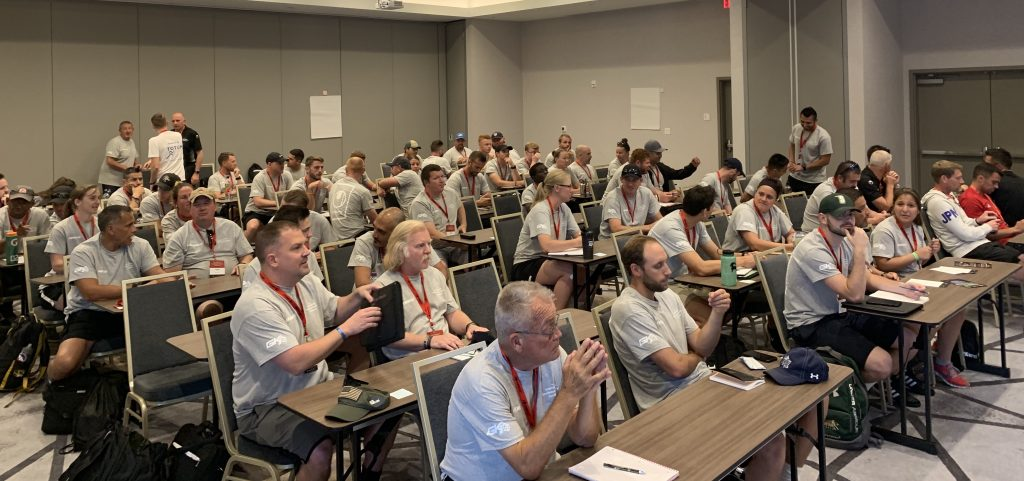 65 Goalkeeper Coaches from all over the world gather to learn from each other, at the 2019 International Goalkeeper Coaches Conference IGCC19 in Florida Usa