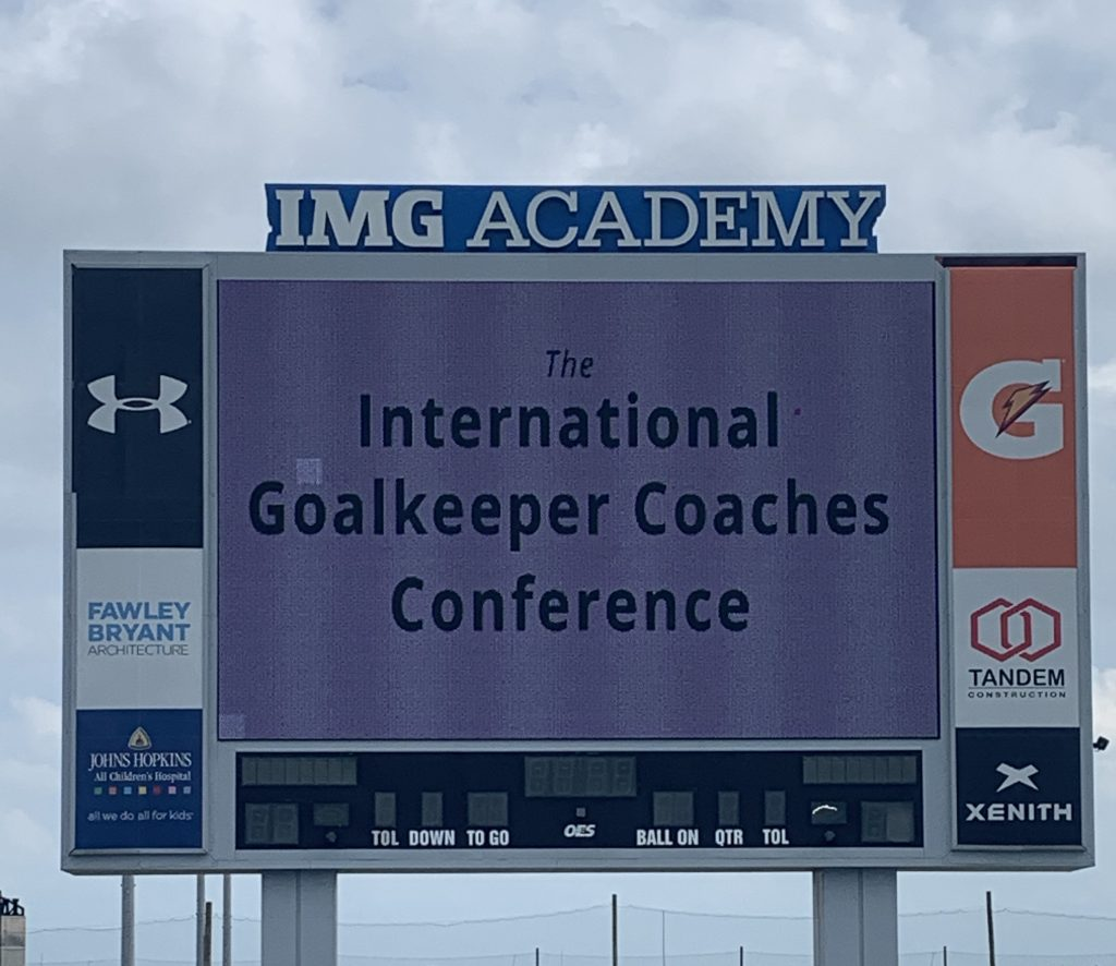 2019 International Goalkeeper Coaches Conference IGCC19 in Florida Usa