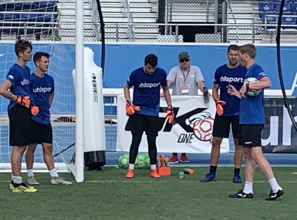Goalkeeper coach Michael Rechner from South Africa and Gremany at the 2019 International Goalkeeper Coaches Conference IGCC19 in Florida Usa